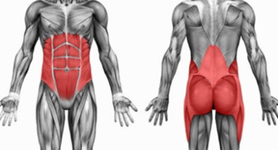 working out with back pain
