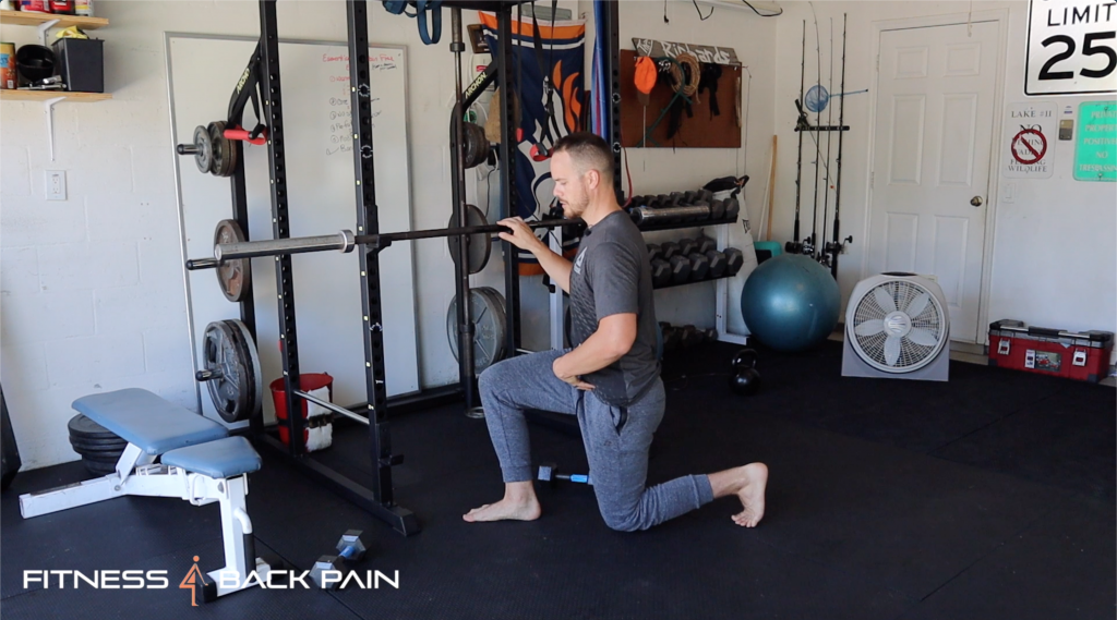 lower back pain friendly workout